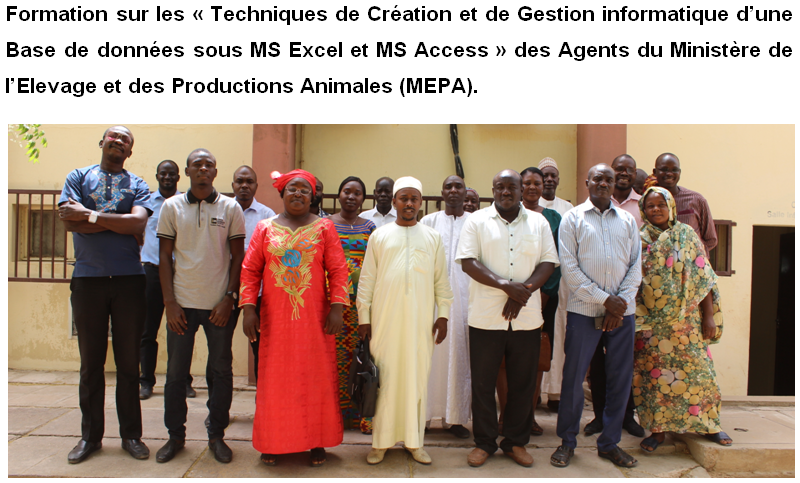 Formation informatique des Agents du MEPA